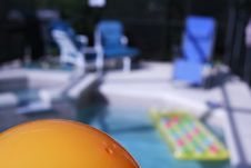 Free By The Pool Royalty Free Stock Images - 5432839