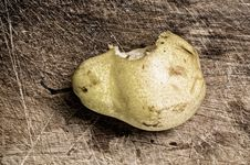 Free Bitten Pear Stock Photos - 5432943