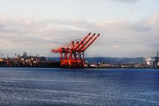 Free Port Of Seattle V2 Stock Photos - 5433303