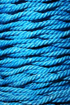 Free Blue Rope Stock Image - 5433331