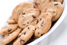 Free Closeup Of Cookies Royalty Free Stock Photos - 5433458