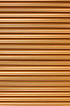 Orange Tin Sheet Stock Photography