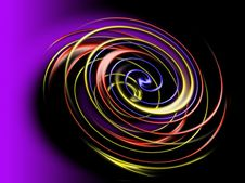 Free Spiral In The Dark Royalty Free Stock Image - 5433606