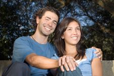 Free Happy, Smiling Couple. Horizontal Stock Photos - 5433893