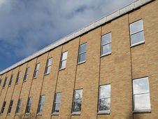 Free Brick Building Royalty Free Stock Photo - 5433895
