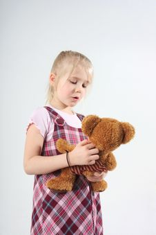 Free Talking With Teddy Stock Images - 5433944