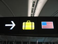 Free Luggage Sign Stock Photos - 5434003