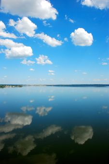 Free Blue Sky And River Stock Images - 5434394