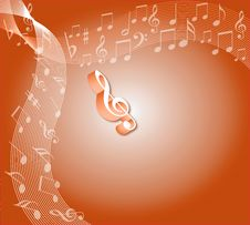 Free Music Notes Stock Images - 5434464