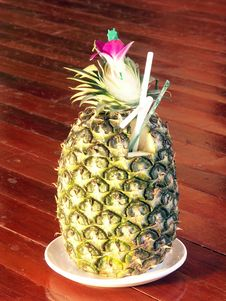 Free Pineapple Drink Stock Images - 5434644