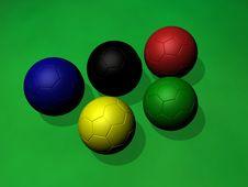 Free Soccer Balls Stock Photos - 5435713