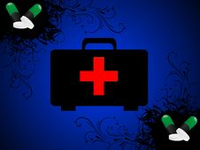 Free First Aid Box Royalty Free Stock Image - 5436286