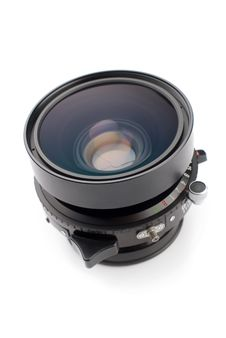 Free Lens For Large Format Camera Stock Photography - 5436952