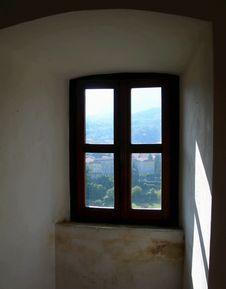Free Window In Old, Rundown House Stock Photos - 5437273