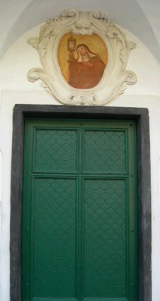 Free Old Green Doors , Italy Stock Photos - 5437453