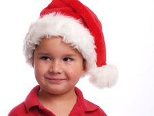Free Cute Santa Boy Royalty Free Stock Images - 5438049