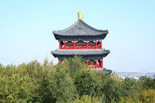 Free Pagoda Royalty Free Stock Image - 5438446