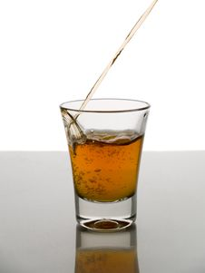 Free Shot Of Whisky Stock Images - 5438644