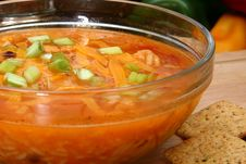 Free Chicken Tortilla Soup Stock Image - 5439231