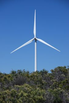 Free Electrical Generating Wind Mill Stock Photography - 5439542