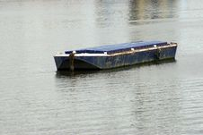The Barge Royalty Free Stock Images