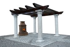 Free Fire Place Stock Photography - 5439862