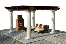Free Fire Place Stock Photos - 5439883