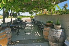 Free Vineyard Patio Stock Images - 5439954