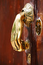 Free Door Handle Royalty Free Stock Image - 5441106