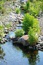 Free Streamlet Among Stones. Stock Image - 5447391