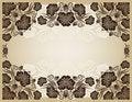 Free Vintage Frame. Elegant. Beige. Royalty Free Stock Photography - 5447747