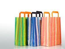 Free Three Shopping Bags Royalty Free Stock Photos - 5440118