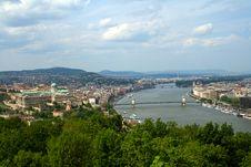 Free Budapest Panoramic View Royalty Free Stock Image - 5440496