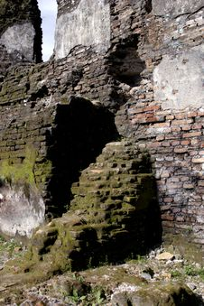 Ruin Of Javanesse Culture Royalty Free Stock Photography