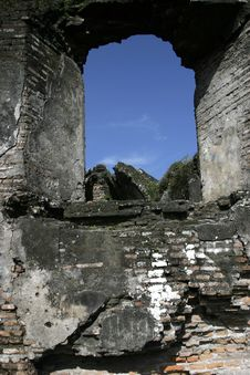 Free The Ruins Royalty Free Stock Photos - 5440558