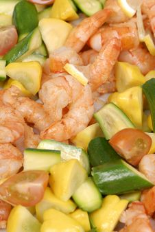 Free Shrimp Royalty Free Stock Photo - 5440965