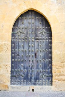 Free Door In Seville, Spain Royalty Free Stock Photos - 5441138