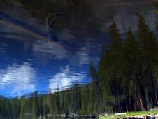 Free Rocky Mountain Impressionism Royalty Free Stock Photos - 5441378