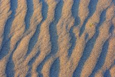 Free Natural Texture. Sandy Waves. Variant Four. Stock Photography - 5442652