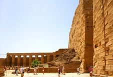 Free Luxor Ruins , Egypt. Royalty Free Stock Photography - 5442957
