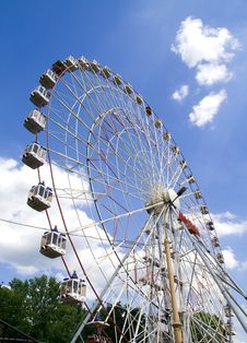 Free Wonder Wheel Stock Photography - 5443222