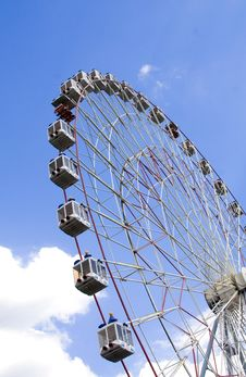 Free Wonder Wheel Royalty Free Stock Photo - 5443225