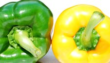 Free Two Peppers Stock Photo - 5444750