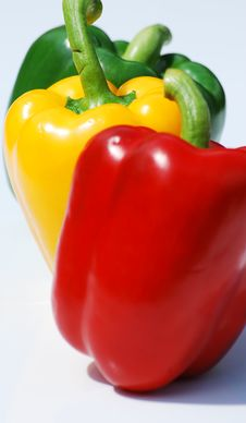 Free Three Peppers Stock Photography - 5444752