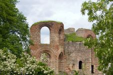Free Ruins Of Ancient Roman Bath In Trier, Germany Stock Photography - 5445022