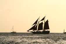 Free Evening Sail Stock Photography - 5445432