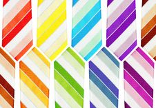 Free Colorful Neckties Stock Photography - 5445492