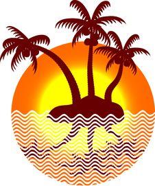 Free Summer Icon. Stock Image - 5445651
