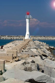 Free Point Area Lighthouse Stock Photography - 5445722