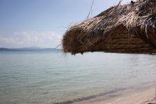 Free Beach Umbrella Royalty Free Stock Images - 5445839